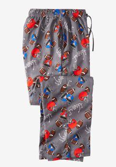 Flannel Novelty Pajama Pants,