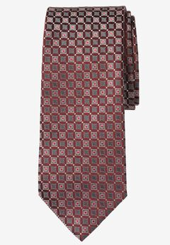 Extra Long Geometric Tie by KS Signature,