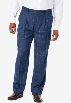 KS Signature Easy Movement® Pleat-Front Expandable Dress Pants,