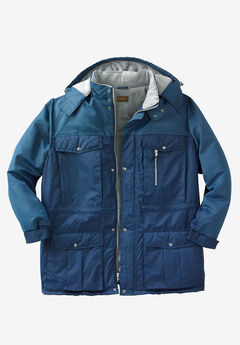 5d458be09cb Colorblock Expedition Hooded Parka by Boulder Creek®
