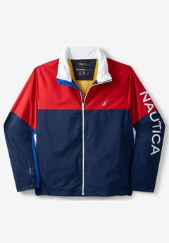 Nautica® Anorak Raincoat, NAVY