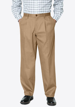 Signature Lux Pleat Front Khakis by Dockers®,