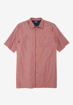 Short-Sleeve Striped Sport Shirt,