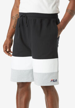 FILA® Colorblock Fleece Shorts,