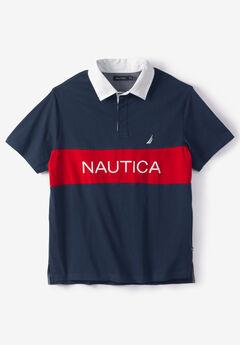 Nautica® Navtech Color Block Polo Shirt,