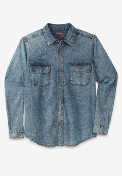 Boulder Creek® Long-Sleeve Renegade Button Up Shirt,