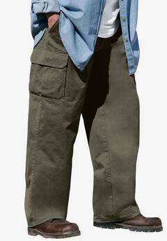 Boulder Creek® Renegade Side-Elastic Waist Single Pocket Cargo Pants,