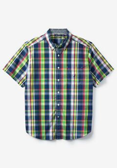Surf Plaid Woven Shirt by Nautica®,