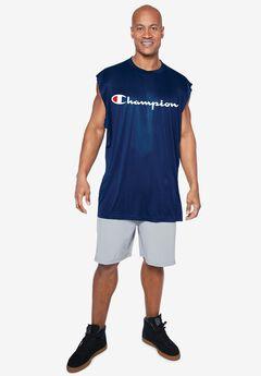 Champion® Script Logo Muscle Tee,