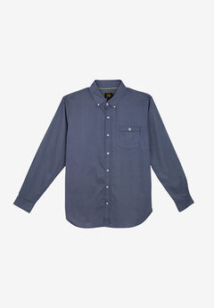 Woven Button Down Shirt by Lee®, NAVY