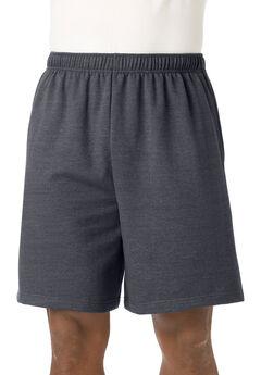 Comfort Fleece Shorts, HEATHER CHARCOAL