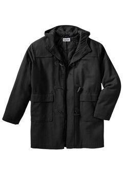 Toggle Parka Coat,
