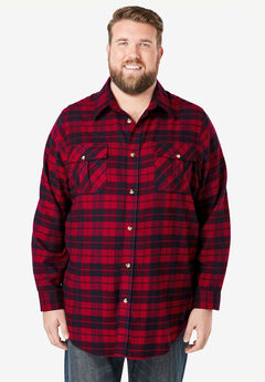 Plaid Flannel Shirt,