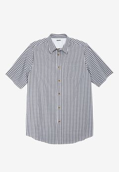Wrinkle-Resistant Short Sleeve Sport Shirt,