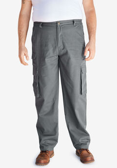 Boulder Creek® Side-Elastic Cargo Pants,