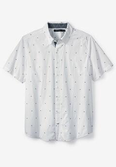 Sailboat Print Woven Shirt by Nautica®,