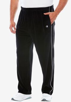 Velour Piped Track Pants by Champion®,
