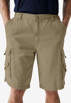 Marine 12' Side Elastic Cargo Shorts by Boulder Creek®,