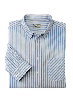 Long-Sleeve Stretch Oxford by Liberty Blues®,