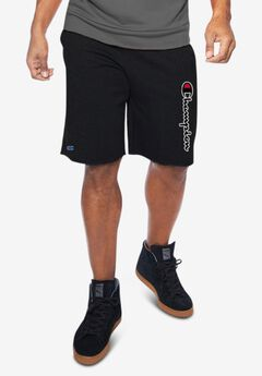 Champion® Script Logo Jersey Shorts,