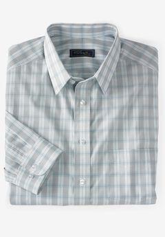 Classic Fit Broadcloth Flex Long-Sleeve Dress Shirt by KS Signature,