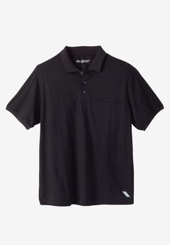 Short-Sleeve Wicking Polo by KS Sport™,