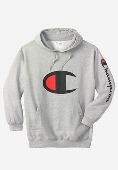 Large Logo Hoodie by Champion®,