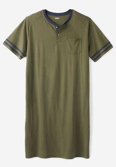 Henley Nightshirt by KS Island™,