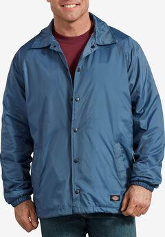 Dickies® Water-Resistant Snap Front Jacket,