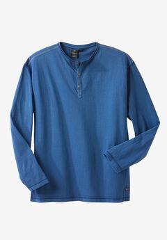 Long-Sleeve Henley by Replika®,