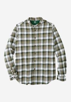 Plaid Flannel Shirt by Liberty Blues®,