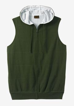 Thermal Lined Fleece Vest by Boulder Creek®, FOREST GREEN
