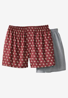 Novelty Boxers 2-Pack by Hanes®,