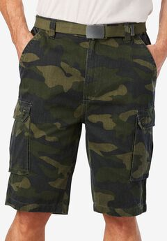 Cargo Shorts with Belt,
