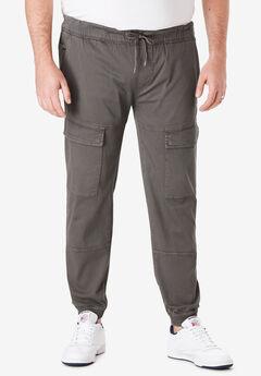 Cargo Jogger Pants by Ecko®, ASPHALT