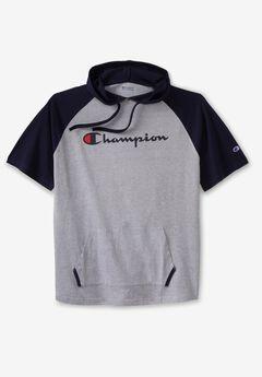Champion® Short-Sleeve Hoodie,