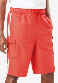 Double Stripe Boardshorts,