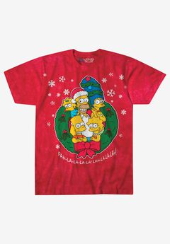 Holiday TV Screenprint Tee,