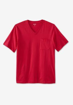 Lightweight V-Neck Pocket T-Shirt,