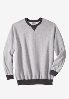 Fleece Crewneck Pullover by Liberty Blues®,
