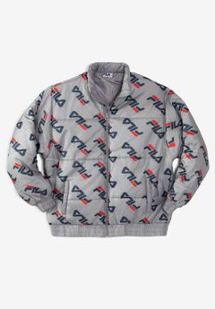 FILA® All Over Logo Puffer Jacket,