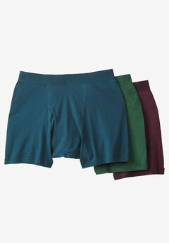Cotton Mid-Length Brief 3-Pack,
