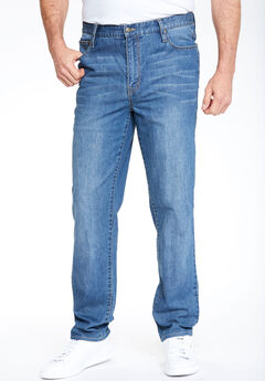 Liberty Blues® Relaxed Fit 5-Pocket Stretch Jeans,