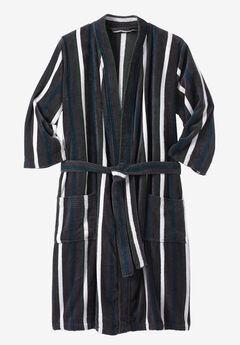 Terry Velour Kimono Robe,