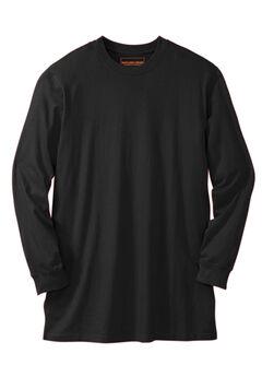 Boulder Creek™ Heavyweight Long-Sleeve No Pocket Crewneck Tee,