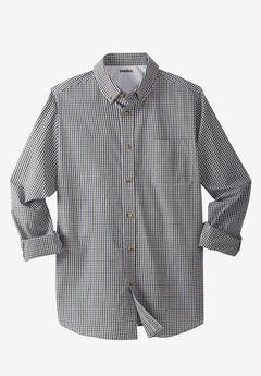 Shrink-Less™ Long-Sleeve Sport Shirt,