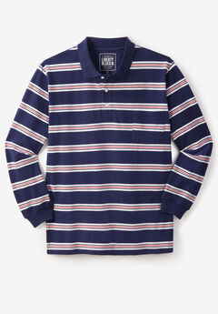 Long-Sleeve Polo by Liberty Blues®,