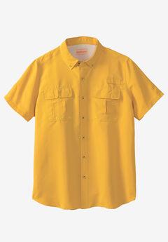 Off-Shore Short Sleeve Sport Shirt by Boulder Creek®,