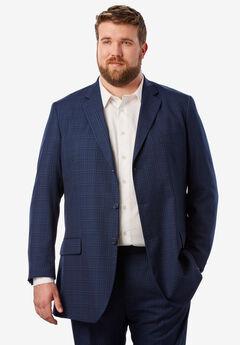 KS Signature Easy Movement® Three-Button Jacket, MIDNIGHT WINDOW PANE