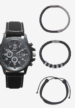 Watch Sets, BLACK